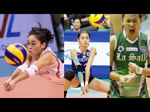 Top 10 Fantastic Actions by Liberos | Women | PHILIPPINES