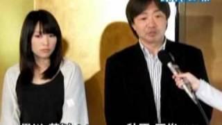撮影(映画)の合間での会見の映像(弘前市)/東奥NETテレビ(東奥日報/Web東...