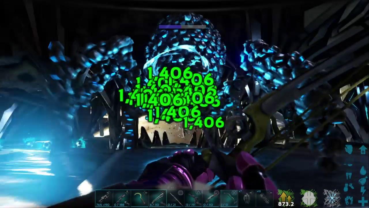 ARK: Survival Evolved Overseer Boss Fight+Ending