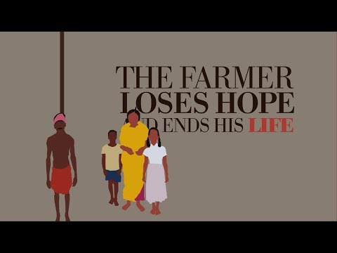 Farmer Suicides motion graphics