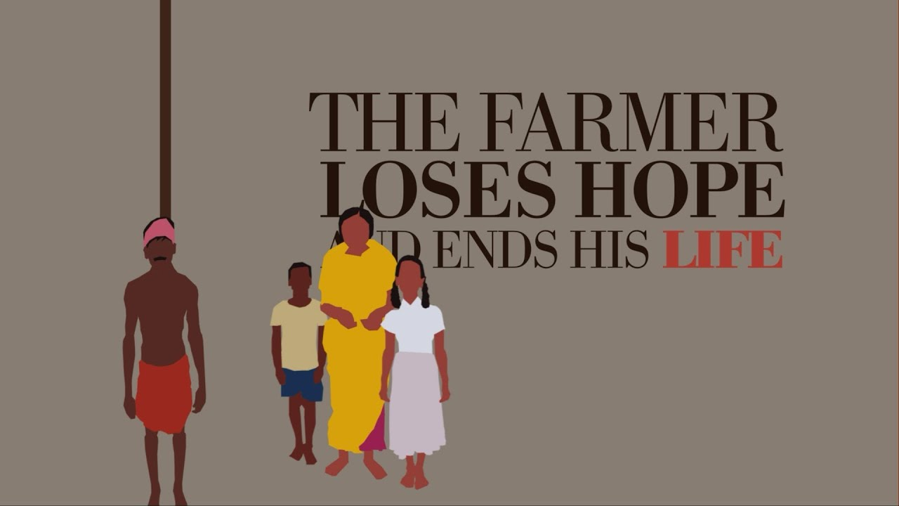 farmers suicide Last october, i introduced my blog series tomorrow's food - today's policies i write about new solutions for our challenging food system so the topic of farmer suicide was never on my mind - but i can't ignore this disturbing trend.