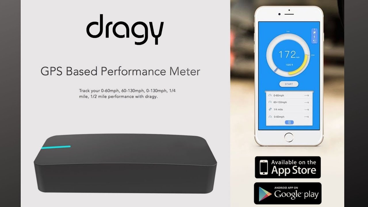 Dragy - GPS Based Performance Meter & Crowd-Sourced Leaderboard Comparisons  -Review with Nissan GTR