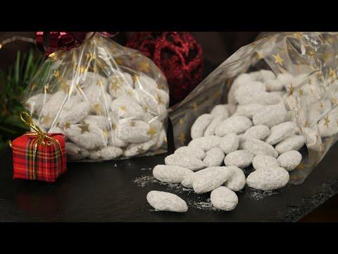 Schneemandeln I Vanille Mandeln Wie Vom Weihnachtsmarkt