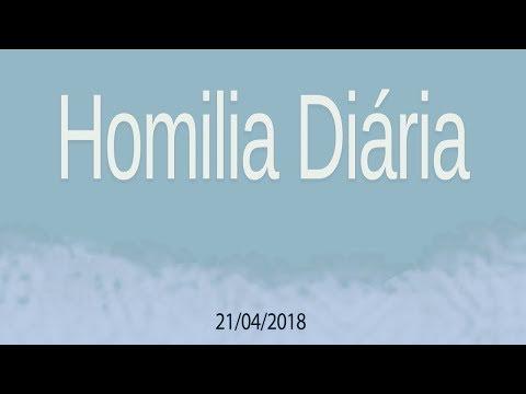 Homilia diária - 21 de abril