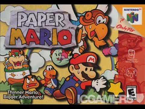Paper Mario Music - Shy Guy's Toy Box