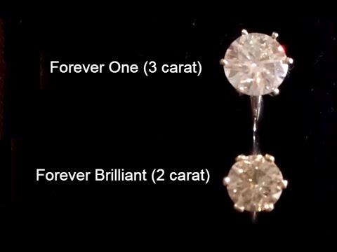 Forever One vs  Forever Brilliant Moissanite