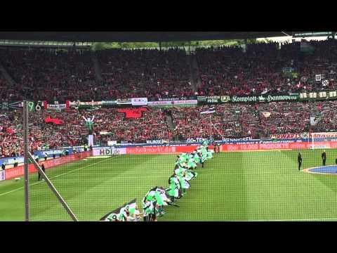 Hannover 96 Alte Liebe / Einmarsch der Spieler / H96 vs Freiburg / 23.05.2015