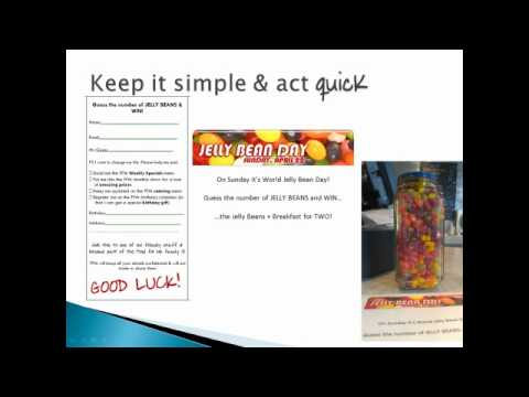 How to quickly develop a simple promotional campaign