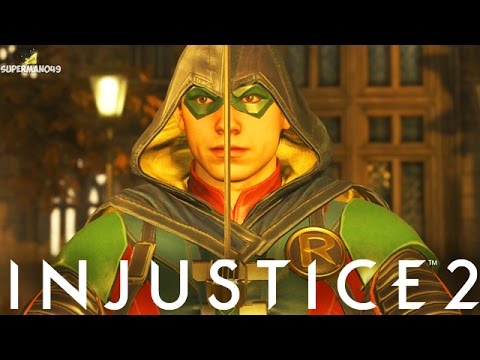 "THE WORST ROBIN EVER!! - Injustice 2 ""Robin"" Gameplay"