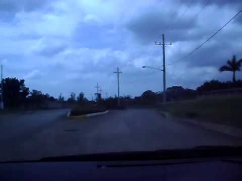 video exit showing road connecting SLEX and STARTOLL.AVI