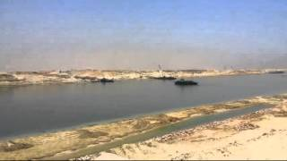 New Suez Canal: remove the last bridge in the new Suez Canal July 2, 2015