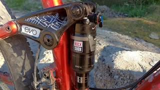Крутая прокачка велосипеда RockShox Debonair. Как сделать из табуретки диван