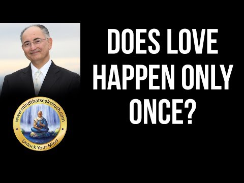 Does love happen only once?