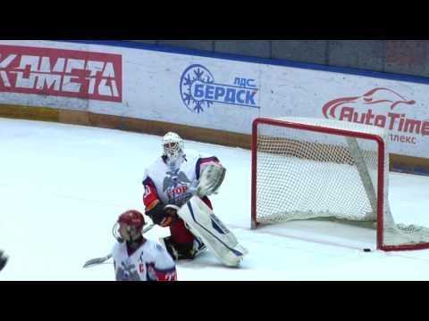 Васлий Пономарев в Новосибирске. Игры на первенство России в ЮХЛ