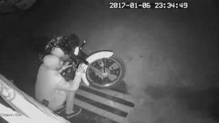 Attempting bike theft