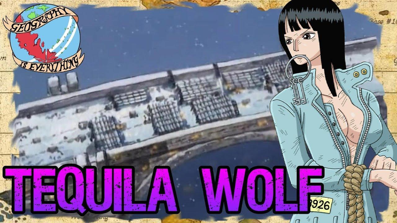 One Piece Tequila Wolf