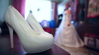 Съемка видео: Весёлая свадьба молодых на Canon 5D mark II