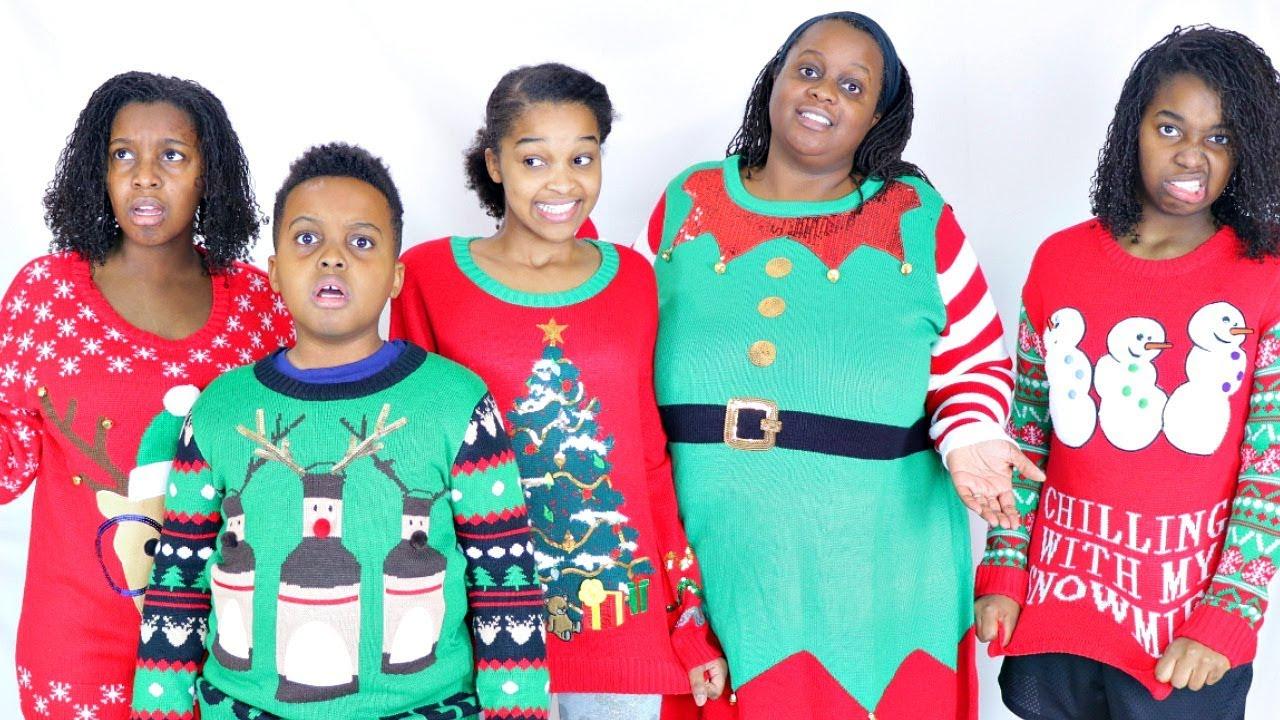 Jojo Christmas Sweater.Christmas Sweater Surprise From Grandma Onyx Family