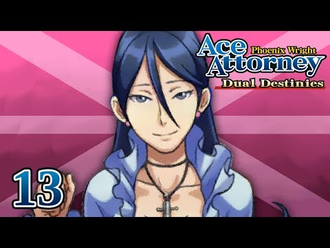 SUMMER OF LOVE - Let's Play - Phoenix Wright: Ace Attorney: Dual Destinies - 13 - Playthrough