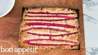 Easter Dessert: Rhubarb-almond Cake | Sweet Spots