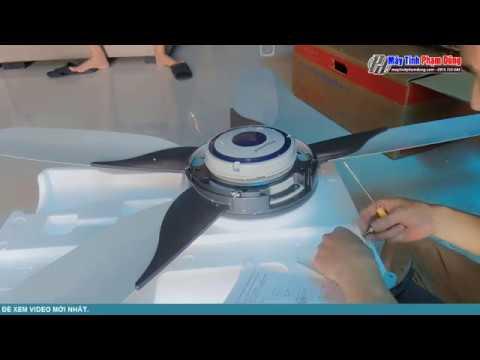 Hướng Dẫn Lắp Ráp Quạt Trần Điện Cơ 5 Cánh – 5-Point Electric Mechanical Ceiling Fan