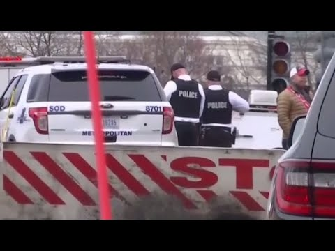 Car hits White House security barrier
