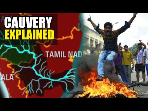 Explained: Cauvery Water Dispute in Hindi