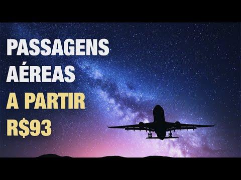 Passagens a Partir de R$93 na 123 milhas - 50% DE DESCONTO!