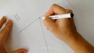 Урок 2. Линейная перспектива.