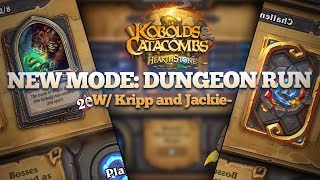 New Mode Dungeon Run w/ Kripp and Jackie