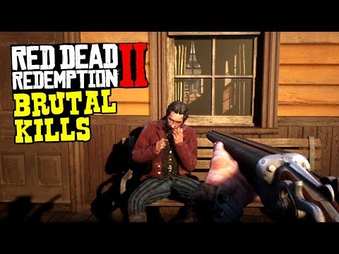 Red Dead Redemption 2 Gore - Brutal Kills Compilation Vol. 1