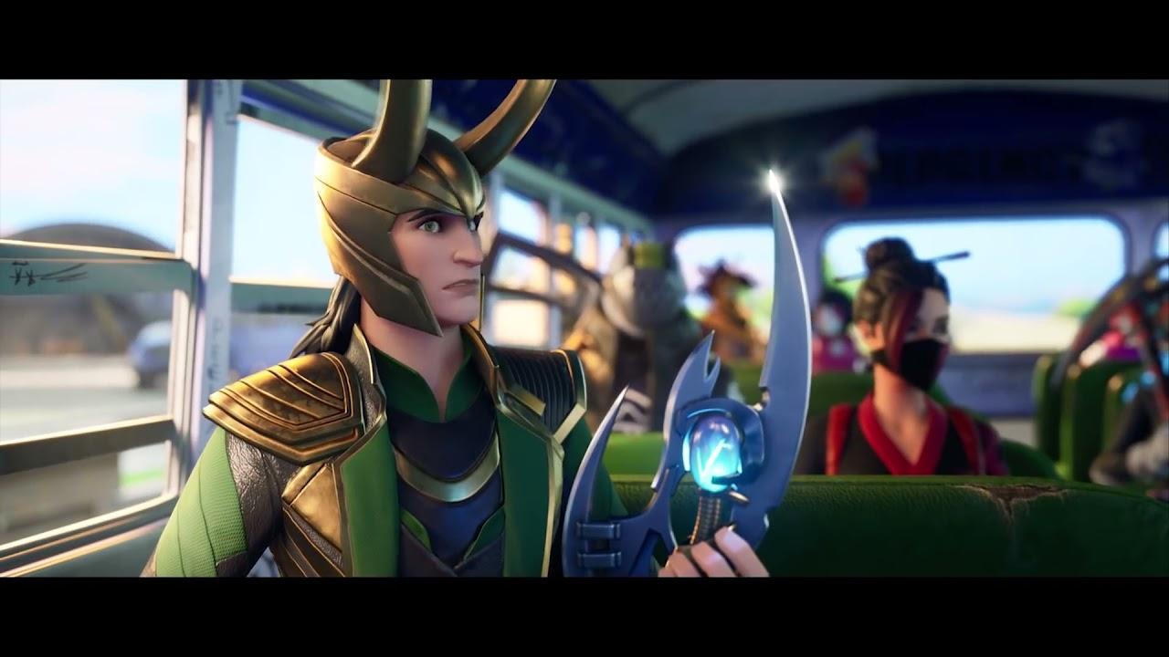 Loki Fortnite July Crew Pack Skin Trailer