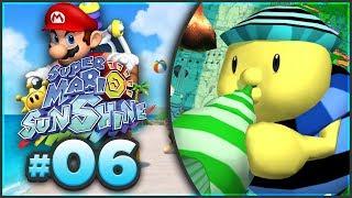 Super Mario Sunshine 100% Walkthrough   ALL Noki Bay Shine Sprites! [Episode 6 🔴LIVE]