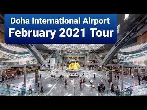 Doha International Airport New Doha Airport Tour February 2021 #Dohainternational #HammadAirport