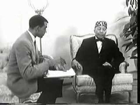 2nd Interview with the Hon. Elijah Muhammad - part 1
