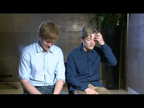 Downton Abbey hotness: Stars Matt Milne and Ed Speleers on heartthrob status