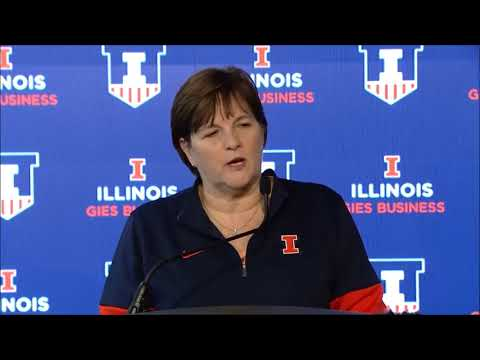 Nancy Fahey on Steve Douglas & the Illini WBB reunion