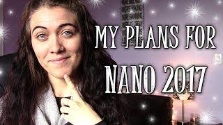 NANOWRIMO 2017   MY PLANS