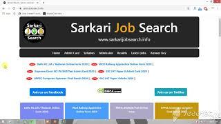 Best Alternative to sarkarijobfinder.info
