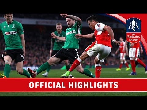 Arsenal 5-0 Lincoln City - Emirates FA Cup 2016/17 (R6) | Official Highlights