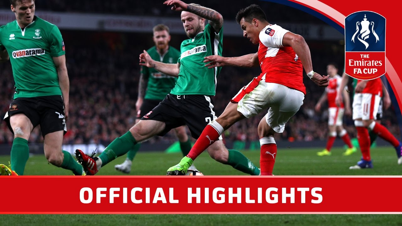 Arsenal 5-0 Lincoln - Emirates FA Cup 2016/17 (QF) | Official Highlights