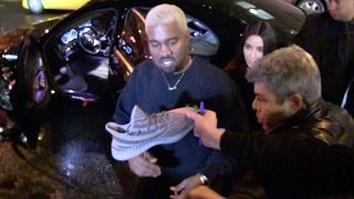 Total MESS - Kim Kardashian and Kanye West goes to Yeezy Season 5 After party