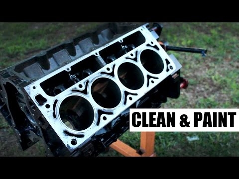 The 500hp Budget Build : Part 3 | How to clean and paint your block