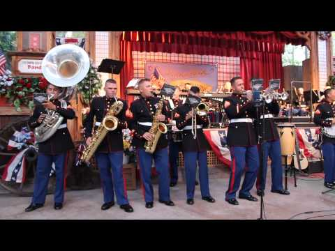 "3rd Marine Aircraft Wing Band plays ""You got a Friend in Me"""
