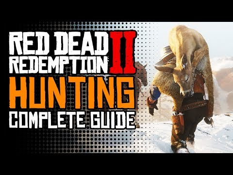 Red Dead Redemption 2 Complete Guide To Hunting: Perfect Pelts,, Legendary Animals & Secret Items!