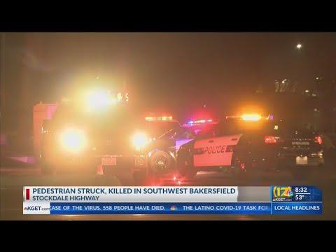 Pedestrian Struck, Killed On Stockdale Highway