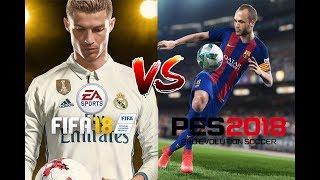 FIFA 18 vs PES 18 Graphics Comparison
