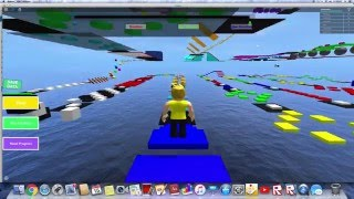 With those parkour skills though (roblox gameplay imac)
