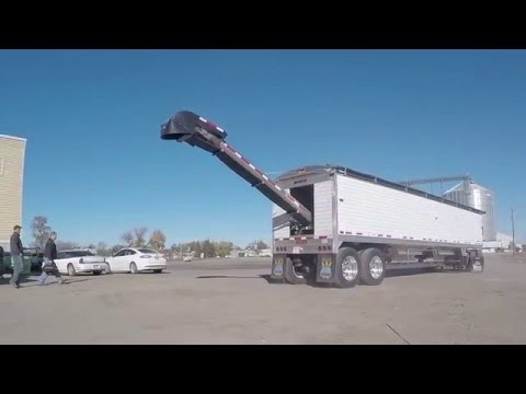 "Timpte ""TRI-29 Fast Flo"" AG Trailer with Tri Steel Conveyor System"