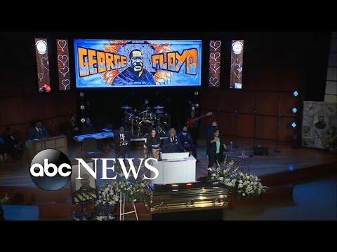 Rev. Al Sharpton delivers eulogy at George Floyd's memorial
